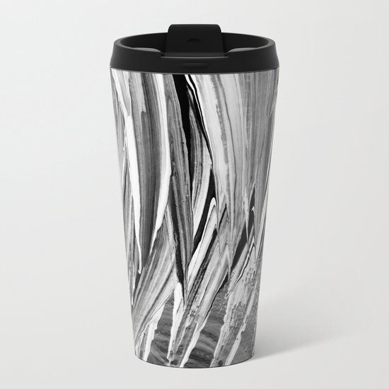 Painted Chaos Metal Travel Mug