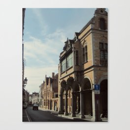 European Streets Canvas Print