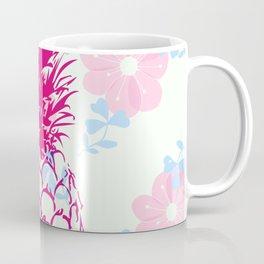 Beautiful Pineapple Flowers Pattern Coffee Mug