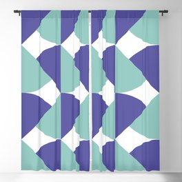 Underwater Colors Blackout Curtain