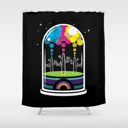 Toy City Shower Curtain