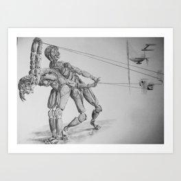 Automa VI, VII Art Print