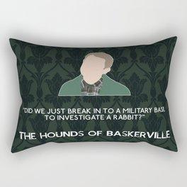 The Hounds of Baskerville - John Watson Rectangular Pillow
