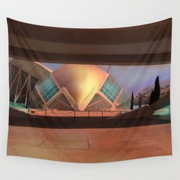 City of Arts and Sciences (Valencia-Spain) Wall Tapestry