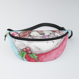 Christmas Pup Fanny Pack