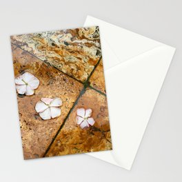 Flowers on Water Stationery Cards
