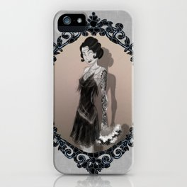 If Flappers Wore Ink iPhone Case