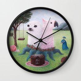 Bipolar Dunch Wall Clock