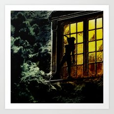 Lost Boy in your Window Art Print