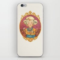 queen iPhone & iPod Skins featuring Queen by Kasheva