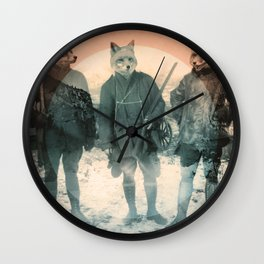 Fox Hunt Wall Clock