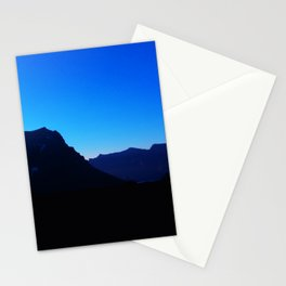 Dawn at Glacier National Park, Rocky Mountains, Going to the Sun Road, Logan Pass Stationery Cards