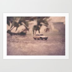 Julians Journey 6 | in the midst of the storm Art Print
