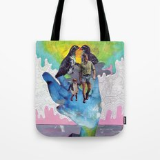 Never for Money Always for Love Tote Bag