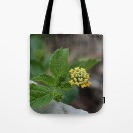 Pillow Flower Tote Bag