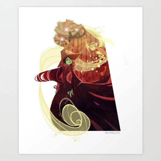 Something Bad Art Print