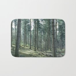 The pines forêt Bath Mat