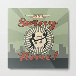 Swing Time Era Metal Print