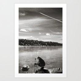 Big Bear Lake Art Print