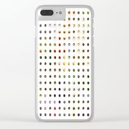 247 Toilet Rolls 17 Clear iPhone Case
