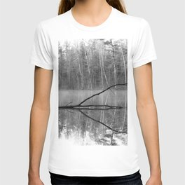 Black and White Reflections over Bluegill Bond T-shirt