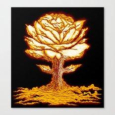Atomic Bloom Canvas Print