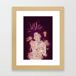 Abyss Lady Framed Art Print
