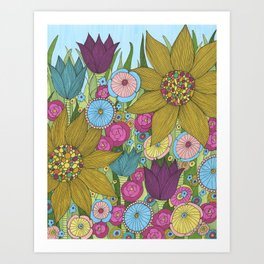 Garden of Miracles Art Print