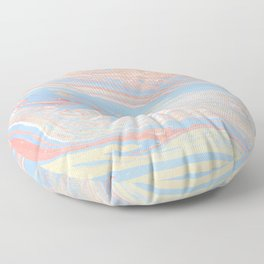 Pastel marble Floor Pillow