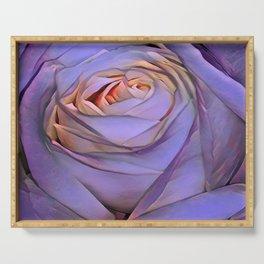 Violet rose Serving Tray