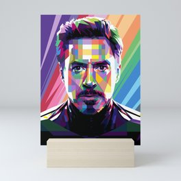Robert Downey Jr Mini Art Print
