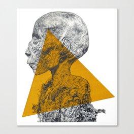Pharaoh's Profile Canvas Print