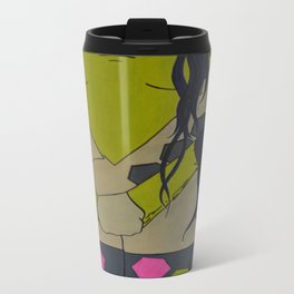 Hexagon Fantasy Travel Mug