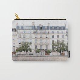Seine River - Paris France, Architecture, Travel Photography Carry-All Pouch