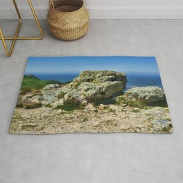 """Conway Mountain (1) Mynydd y Dref (Welsh : """"Mountain of the Town"""")  Rug"""
