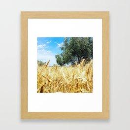 il grano Framed Art Print