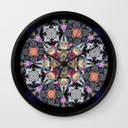 Catleidoscope Wall Clock
