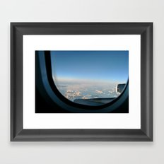 Transatlantic Framed Art Print