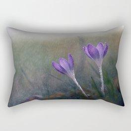 Spring Rain. Rectangular Pillow