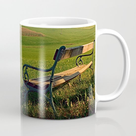 Bench under the tree | landscape photography Coffee Mug
