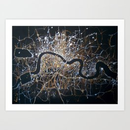 Night London Art Print
