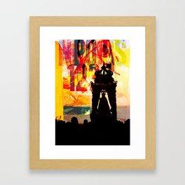 _silenzio sacro Framed Art Print