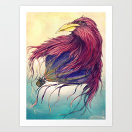 Who Said We Could Not Fly Away? Art Print