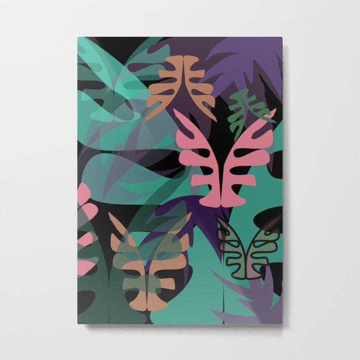 WildVeg 2 Metal Print