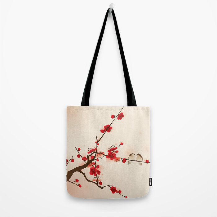 Oriental plum blossom in spring 007 Tote Bag