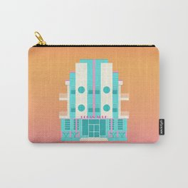Ocean Surf, Miami 80s Carry-All Pouch