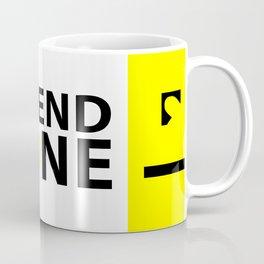 Friendship or Friendzone Love Coffee Mug