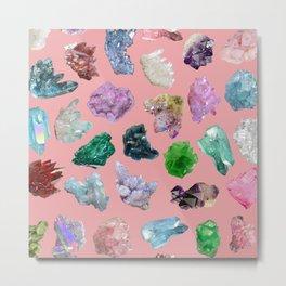 Magic Crystals Metal Print