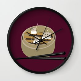 Steam room Wall Clock