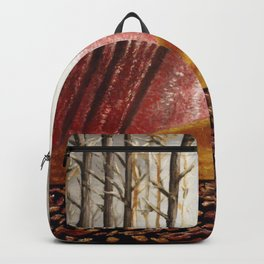 Autumn Abstract Backpack